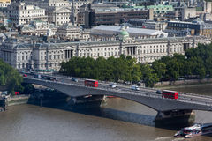Sommerset House London Royalty Free Stock Image