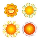 Sommersonne Vektor Abbildung