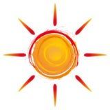 Sommersonne Lizenzfreies Stockfoto