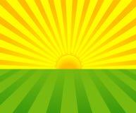 Sommersonnenaufgang Lizenzfreies Stockfoto