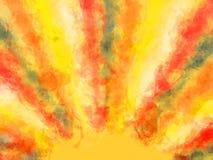 Sommersonnenhintergrund. Stockbild