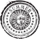 Sommerstempel Lizenzfreies Stockbild