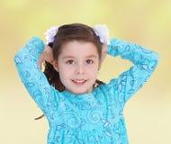 Sommerstimmung ein kleines Mädchen Stockfoto