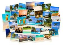 Sommerstrand Maldives-Bilder Stockbilder