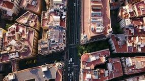 Sommertag Barcelona Stockfotografie