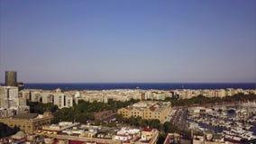 Sommertag Barcelona Stockbild
