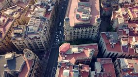 Sommertag Barcelona Stockfoto