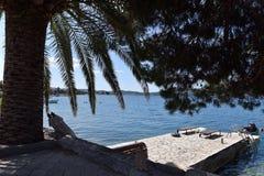 Sommertag in dem Meer Lizenzfreies Stockfoto