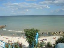 Sommertag durch das Meer Lizenzfreie Stockfotografie