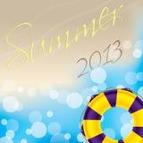 Sommertapetenentwurf Stockfotografie