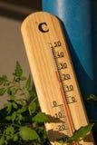 Sommertemperatur Lizenzfreie Stockbilder