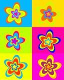 Sommertraumblumen stock abbildung
