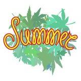 Sommervektordesign Lizenzfreies Stockfoto