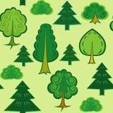 Sommerwaldmuster Lizenzfreies Stockbild