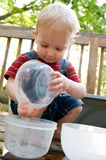 Sommerwasserspiel Lizenzfreies Stockfoto