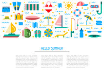 Sommerzeit 01 Lizenzfreie Stockfotografie