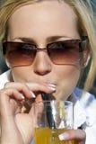 Sommerzeit-Getränk Stockfoto