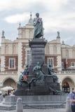 Sommerzeit in Krakau, Polen Lizenzfreies Stockfoto