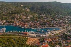 Sommerzeit in Kroatien Lizenzfreie Stockfotografie