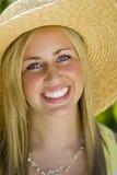 Sommerzeit-Lächeln Lizenzfreies Stockbild