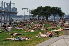 Sommerzeit in New York City Lizenzfreie Stockfotos