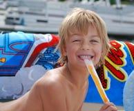 Sommerzeit Popsicle Stockfotos