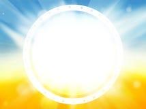 Sommerzeit-Sommerfarben Lizenzfreies Stockfoto