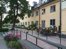 Sommerzeit in Stockholm Schweden Lizenzfreie Stockbilder