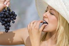 Sommerzeit-Trauben Stockfotos