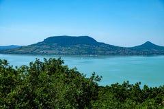 Sommerzeit und Ferien am Balaton See Lizenzfreies Stockbild