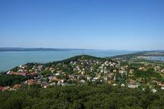Sommerzeit und Ferien bei Balaton Lizenzfreies Stockbild