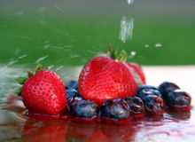 Sommerzeitnahrung Lizenzfreie Stockbilder