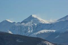 Sommet 2 de montagnes rocheuses Photo libre de droits