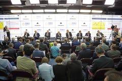 Sommet de compagnie d'énergie Photographie stock
