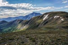 Sommet de crête de cupidon, passage de Loveland Montagnes rocheuses du Colorado photographie stock libre de droits