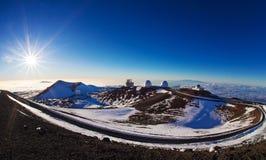Sommet de Mauna Kea Photo stock