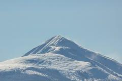 Sommet de montagnes rocheuses Images libres de droits