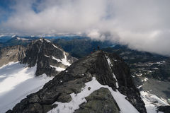 Sommet de Mt Matier Image stock