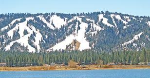 Sommet de neige Photo libre de droits