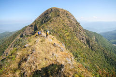 Sommet de Thaïlande du nord photographie stock libre de droits