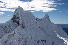 Sommet extrême de glace Image libre de droits