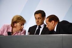 Sommet préparatoire de G 20, Berlin Images stock