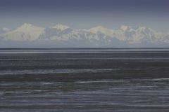 Sommets d'Alaska Photos libres de droits