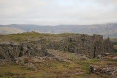 Sommets de l'Islande Photos libres de droits