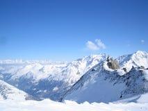 Sommets de montagne Photographie stock libre de droits
