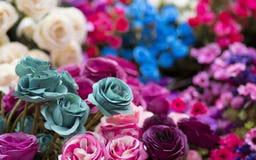 Sommige bloemen in de tuin royalty-vrije stock foto