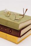 Sommige boek en glazen Royalty-vrije Stock Fotografie