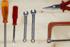 Sommige hulpmiddelen Stock Foto's