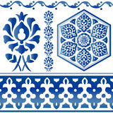 Sommige Islamitische ontwerpelementen Stock Fotografie