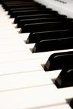 Sommige Pianosleutels van een modulaire Synthesizer Royalty-vrije Stock Afbeeldingen